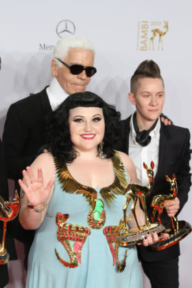 Beth Ditto, Udo Lindenberg, Karl Lagerfeld
