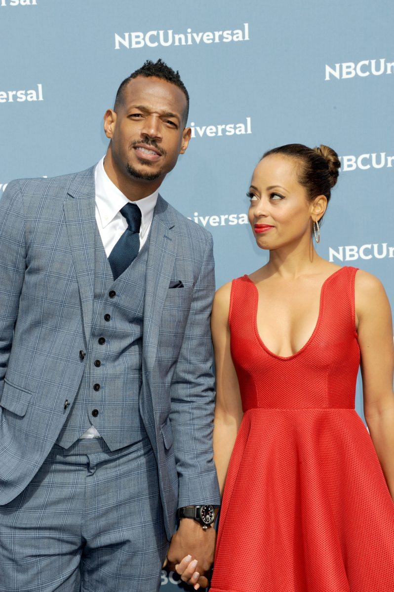Marlon Wayans Angelica Zachary Photoamc After dating each other for a while, they got married in 2005. photoamc